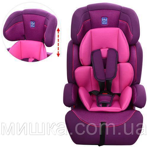 Детское автокресло M 3546-4-9 фиолетовый цвет
