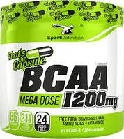 Аминокислоты Sport Definition BCAA 1200mg That's The Capsule 264 caps