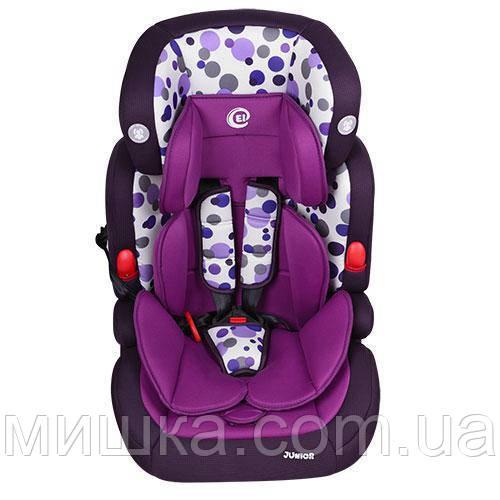 Детское автокресло El Camino ME 1008-3 JUNIOR фиолетовый