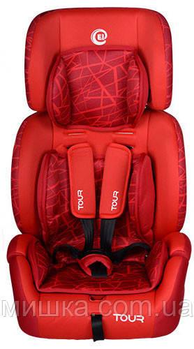 Детское автокресло El Camino ME 1004-2 TOUR красное