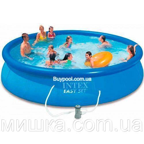 Семейный надувной бассейн Intex 28142 Easy Set