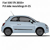 Fiat 500 2015+ молдинги на двери , фото 1