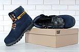 Зимние ботинки Caterpillar с мехом blue(cat). Живое фото. (Реплика ААА+), фото 4