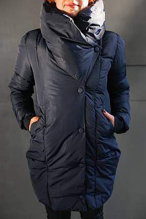 Женская модная стильная куртка/пальто с капюшоном, фото 2