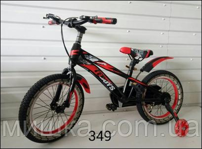 """Велосипед детский TopRider YP-349 16"""" красный"""