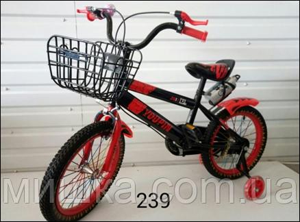 """Велосипед детский TopRider YP-289 16"""" розовый"""