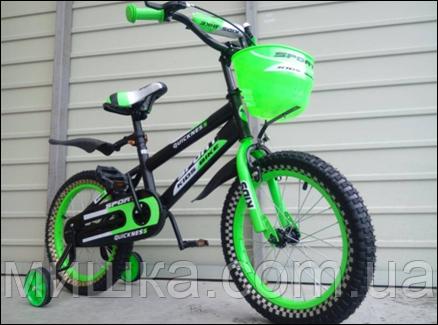 """Велосипед детский TopRider-820 20"""" салатовый"""