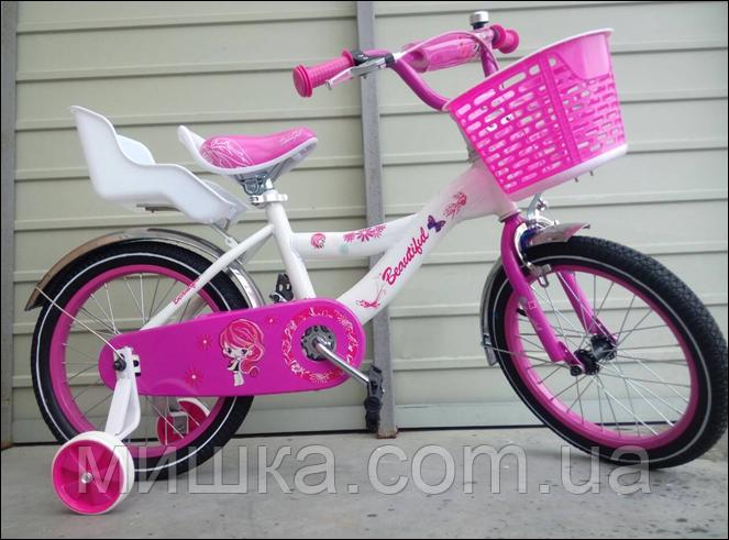 """Велосипед детский TopRider-403 20"""" розовый"""