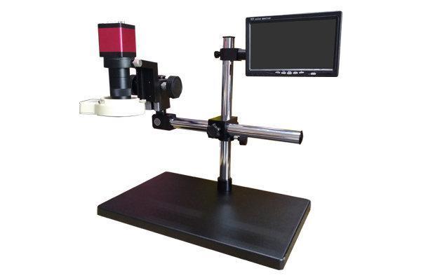 Мікроскоп електронний промисловий у комплекті з монітором, подовженої підставкою і підсвічуванням