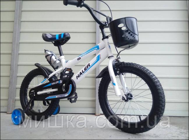 "Велосипед детский TopRider-812 16"" синий"