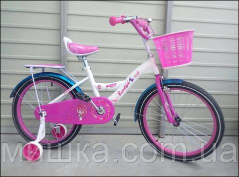 """Велосипед детский TopRider-403 12"""" розовый"""