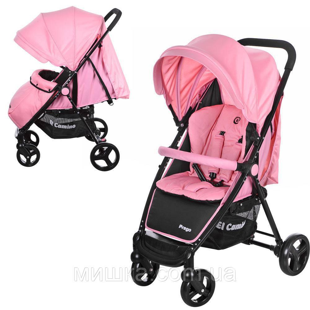 M 3435-8 PREGO детская прогулочная коляска розовая