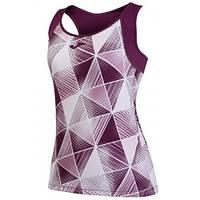 Майка для тенісу жіноча Joma GRAFITY бордова 900184.655