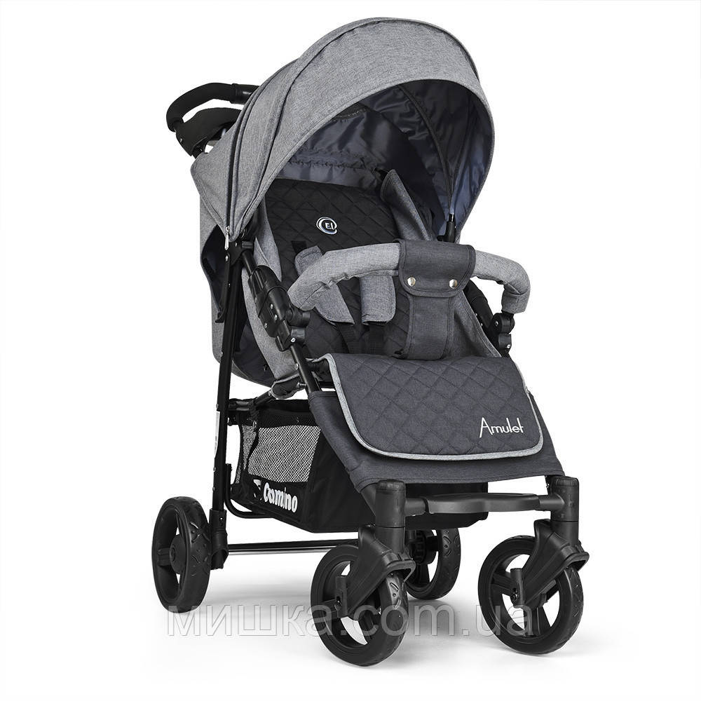 ME 1015-11 AMULET дитяча прогулянкова коляска сіра