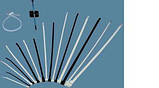Кабельные хомуты  ЗМ Scotchflex FS 135 A-C (135 х 2,5 мм.) пластиковые стяжки. Белые., фото 2