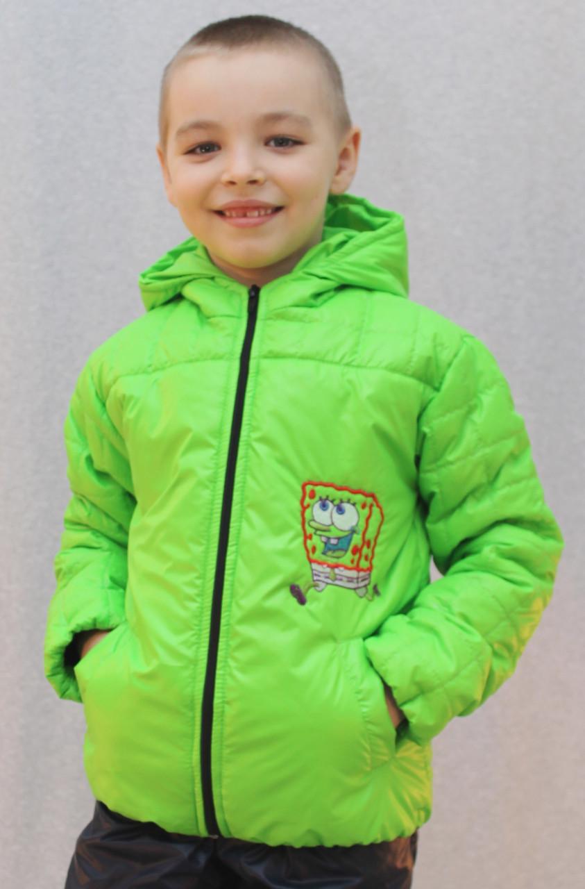 Курточка на мальчика  салат