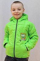 Курточка на мальчика Губка Боб салат, фото 1