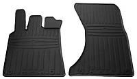 Резиновые передние коврики для Porsche Macan 2013- (STINGRAY)