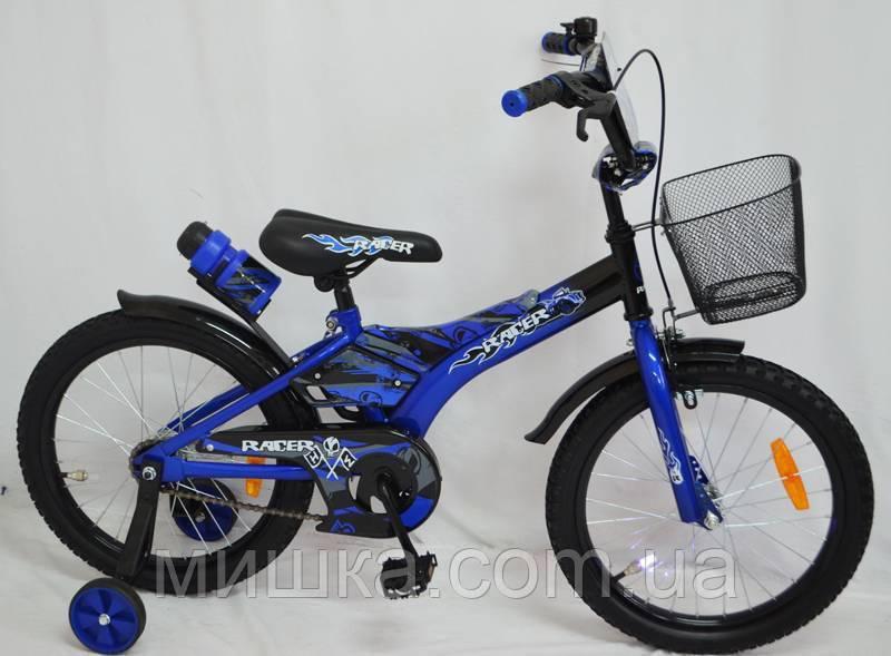 """Детский велосипед SIGMA RACER 12"""" синий"""