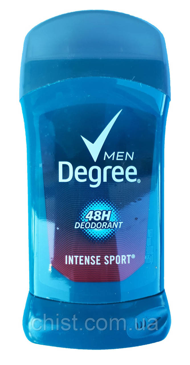 "Degree мужской дезодорант стик ""Intense sport"" (85 g)"