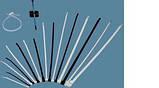 Кабельные хомуты ЗМ, Scotchflex, FS 200  A-C (200 мм. х 2,5 мм.) пластиковые стяжки. Белые., фото 2