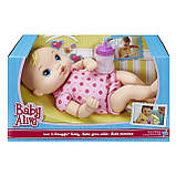 Baby Alive Кукла Пупс младенец блондинка, фото 2