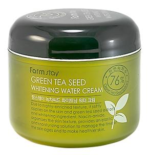 Увлажняющий крем с экстрактом зеленого чая FarmStay Green Tea Seed Whitening Water Cream