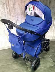 """Всесезонная детская коляска 2 в 1 """"POLO"""" Blue"""