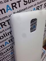 Чехол для 3D сублимации на Samsung Note 4 матовый, фото 2
