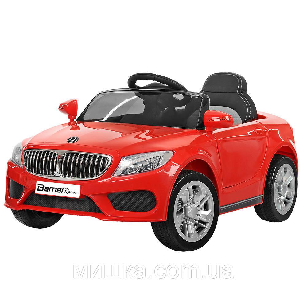 Електромобіль дитячий BMW M 3270EBLR-3, червоний