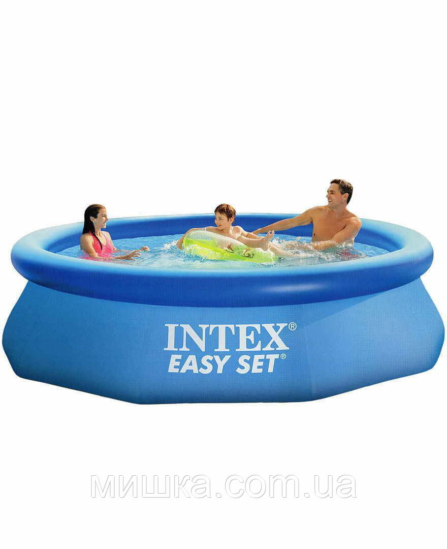 Семейный наливной бассейн с насосом Intex 28112 Easy Set