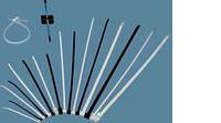 Кабельные хомуты  ЗМ™ Scotchflex™ FS 160  C-C (160 мм.  х 4,5 мм.) пластиковые стяжки. Белые, фото 1