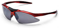 Очки EXUSTAR CSG05-4IN1 (3 сменные линзы) красный