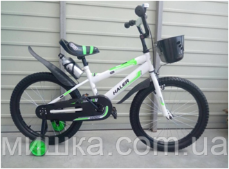 """Велосипед детский TopRider-812 12"""" салатовый"""