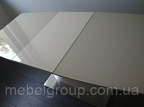 Стол TM-50-1 молочный 120/160x80, фото 2