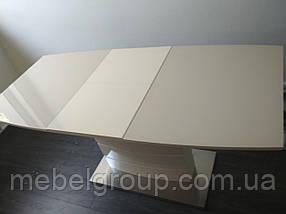 Стол TM-50-1 молочный 120/160x80, фото 3