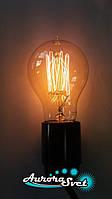 Лампа Эдисона LEMANS 40W, 2700K, цоколь Е27 (диммируемая). Рэтро-лампа., фото 1