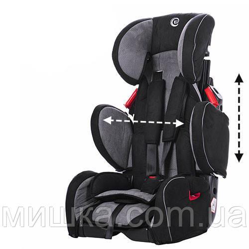 Детское автокресло EL CAMINO M 3547-11 серого цвета
