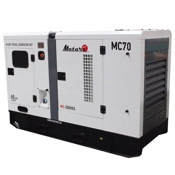 Генератор дизельный Matari MC70 (75 кВт)