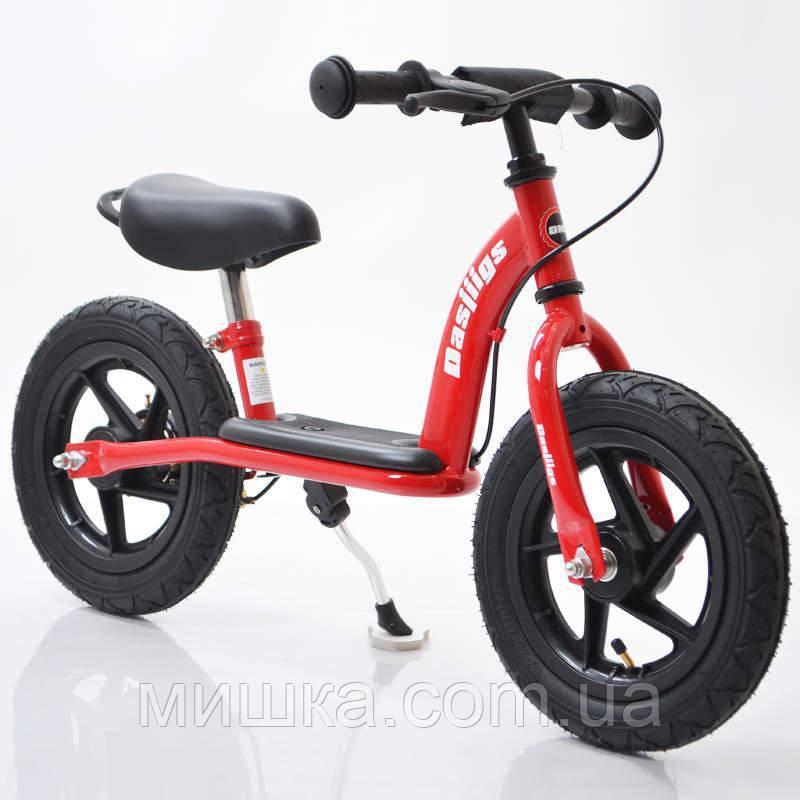 Детский стильный беговел 12B-10 Red-black