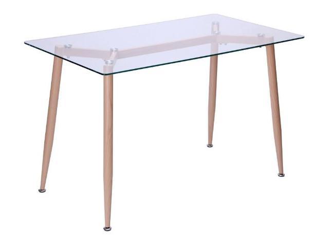 Стол обеденный Tilia Каркас бук/стекло прозрачное