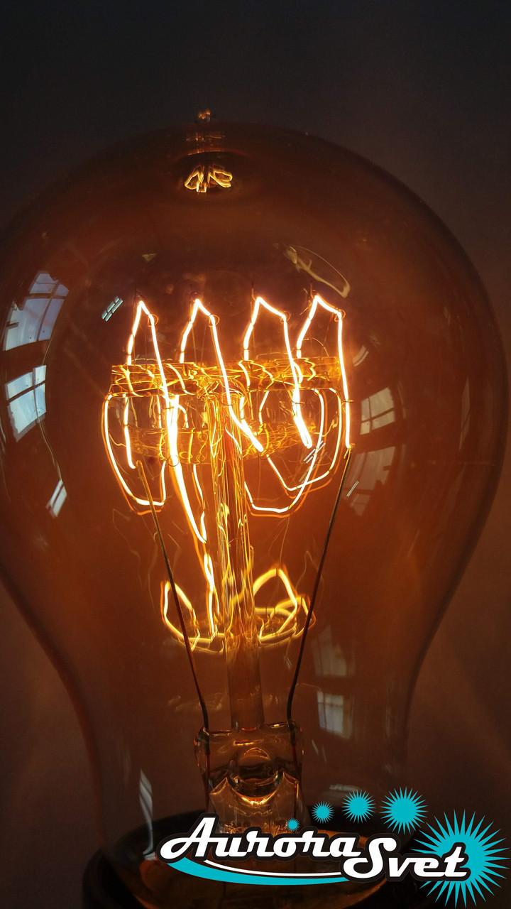 Лампа Эдисона LEMANS 40W, 2700K, цоколь Е27 (диммируемая). Рэтро-лампа.