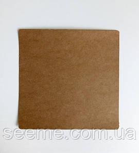 Крафт картон, 175×175 мм с закругленными краями, комплект 10 шт
