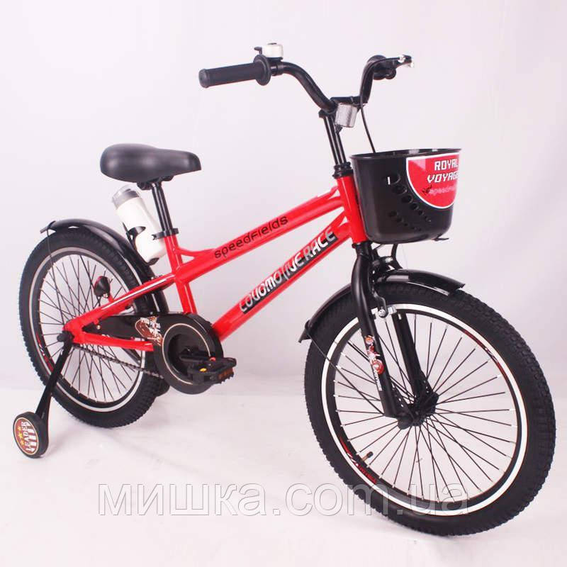 """Детский велосипед SIGMA SPEED FIEIDS-20"""" red"""