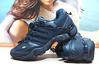 Мужские кроссовки Supo Terrex Fast R синие 44 р.