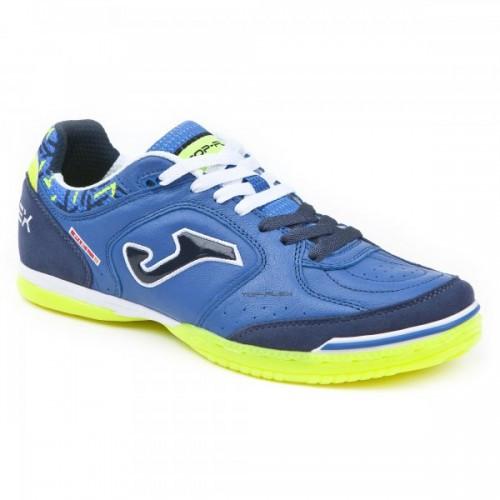 b1dfa065e Обувь для футзала Joma TOP FLEX 804 темно-сине-голубые, TOPS.804.IN ...