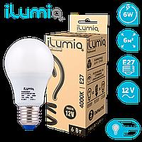 Светодиодная лампочка 012 L-6-MO-E27-NW-12