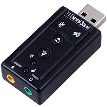 USB звуковая карта внешняя Спартак 3D Sound card 7.1, фото 1