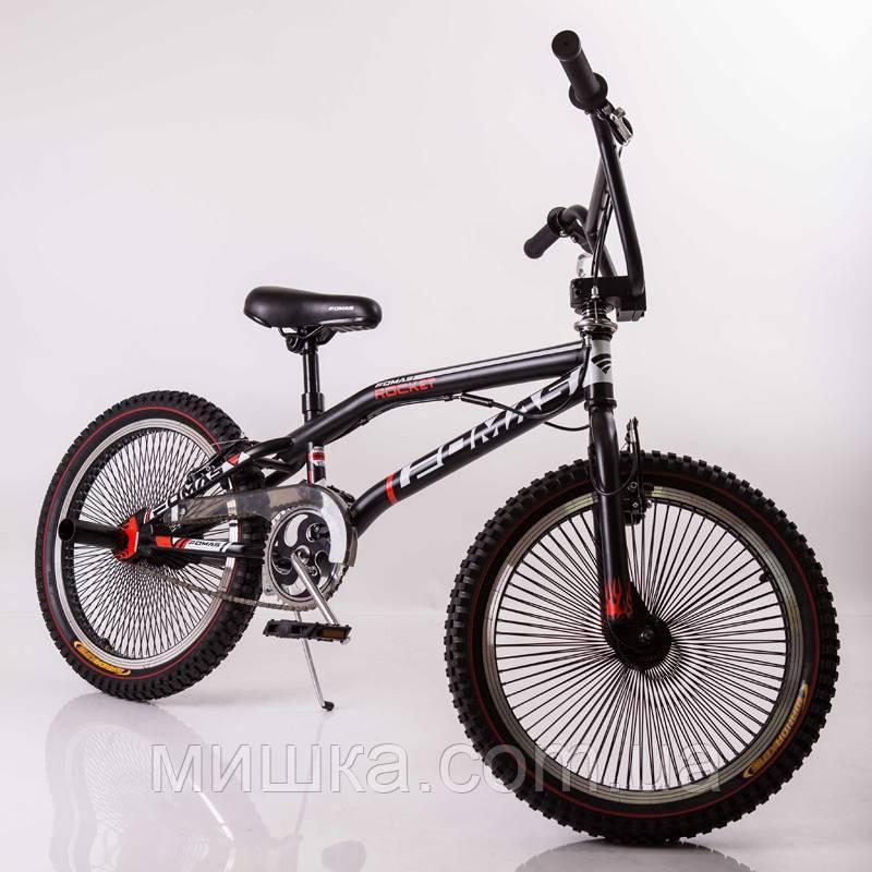 Экстремальный велосипед SIGMA Fomas F-200 черный двухколесный