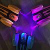 Детский Самокат Скутер SMART FL - Музыка Дым Подсветка - Красный, фото 5